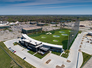 Image Top Golf Aerial